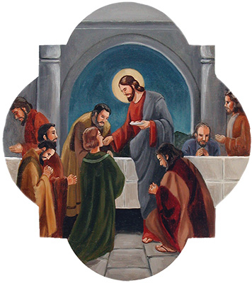 The Fifth Luminous Mystery: Christ Institutes the Eucharist
