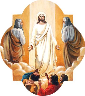 The Fourth Luminous Mystery: The Transfiguration