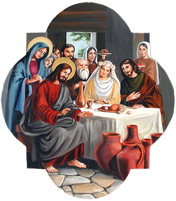 The Second Luminous Mystery: The Wedding at Cana