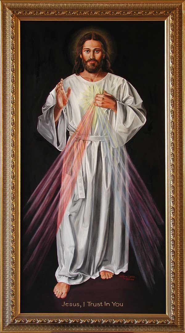 Divine mercy picture of jesus