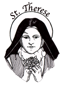 st-therese-with-a-rose