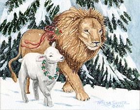 Lion-&-Lamb