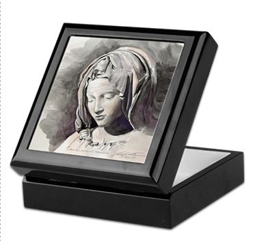 pieta keepsake box